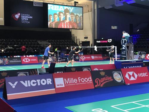 Mille携手丹麦羽毛球队 丹麦公开赛再起健康风潮