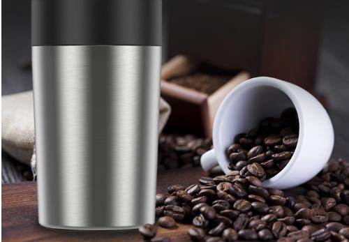万家隆便捷式磨煮一体咖啡豆电动研磨机:让一杯咖啡唤醒您一天的美好~