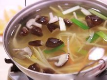 香菇高丽菜汤