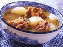 牛蒡萝卜豆汤