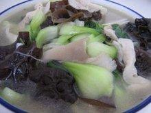 木耳大白菜汤