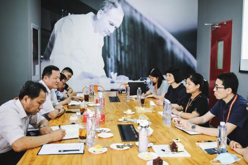 上海市人大常委会主任唐海东等领导莅临诺心考察调研